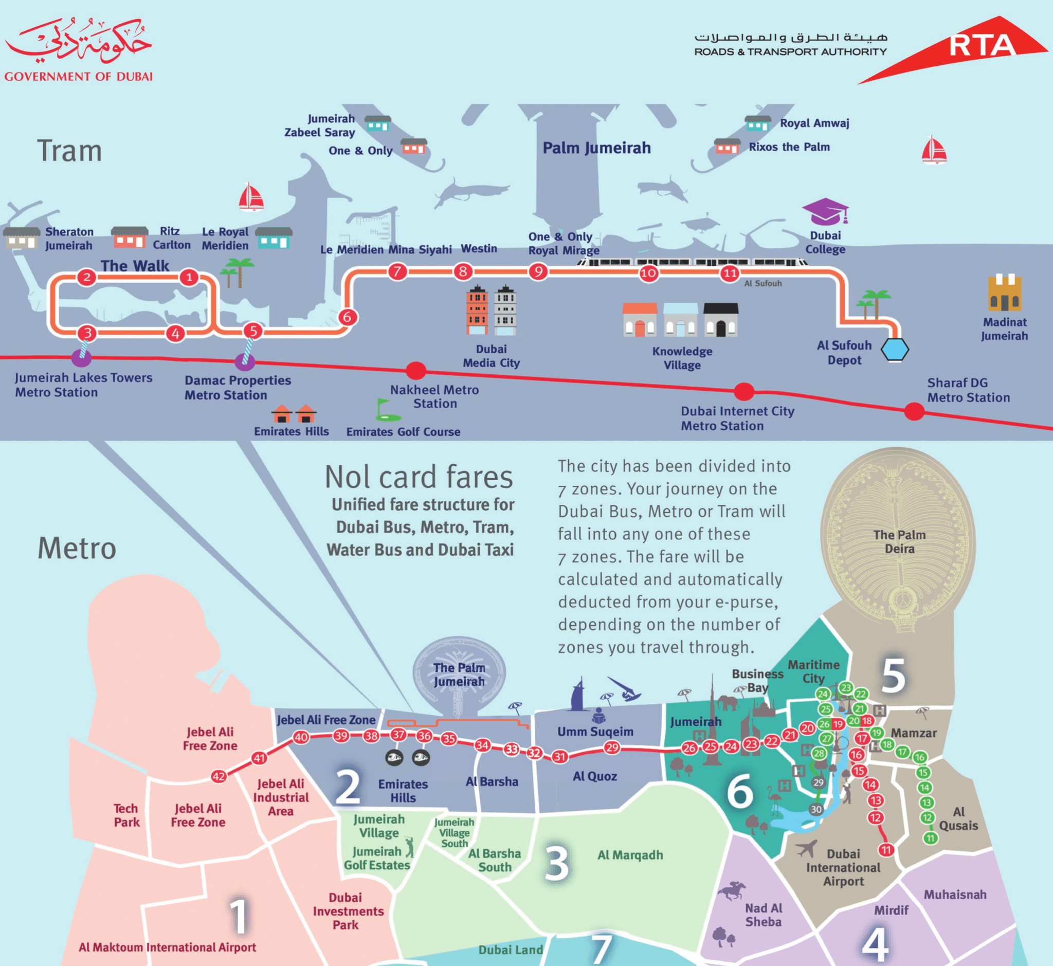 Dubai Bus Routes, Fares & Timings - 2019 Guide