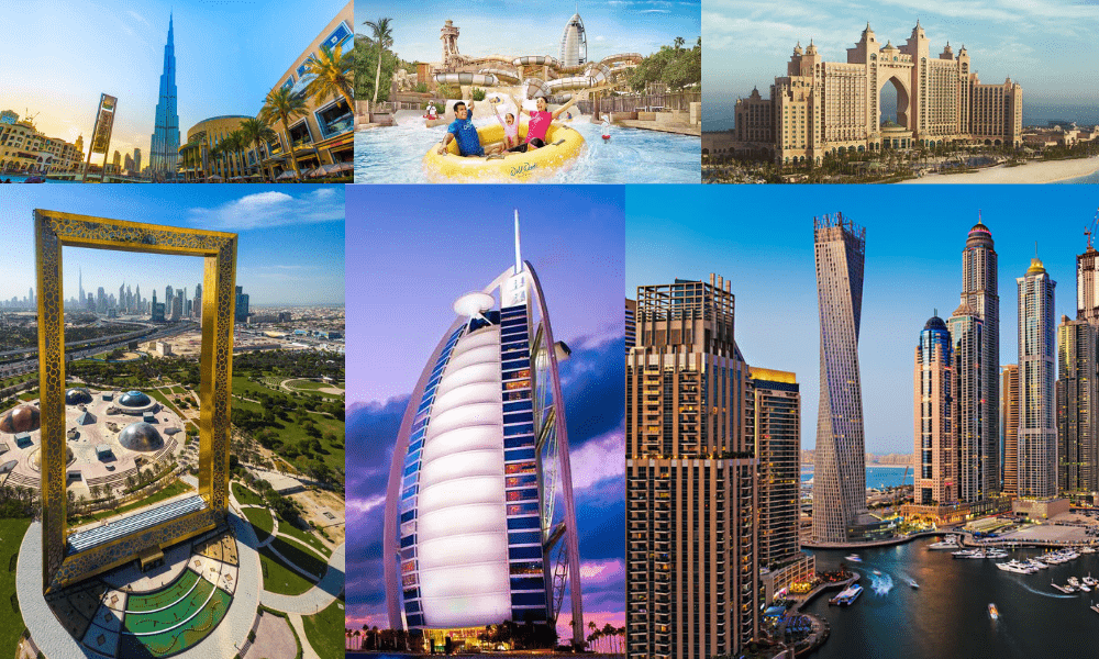 Top 10 World Famous Attractions of Dubai