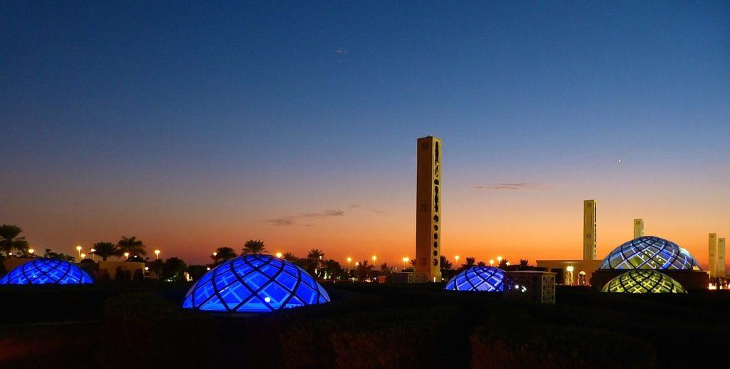 Explore Abu Dhabi City at night
