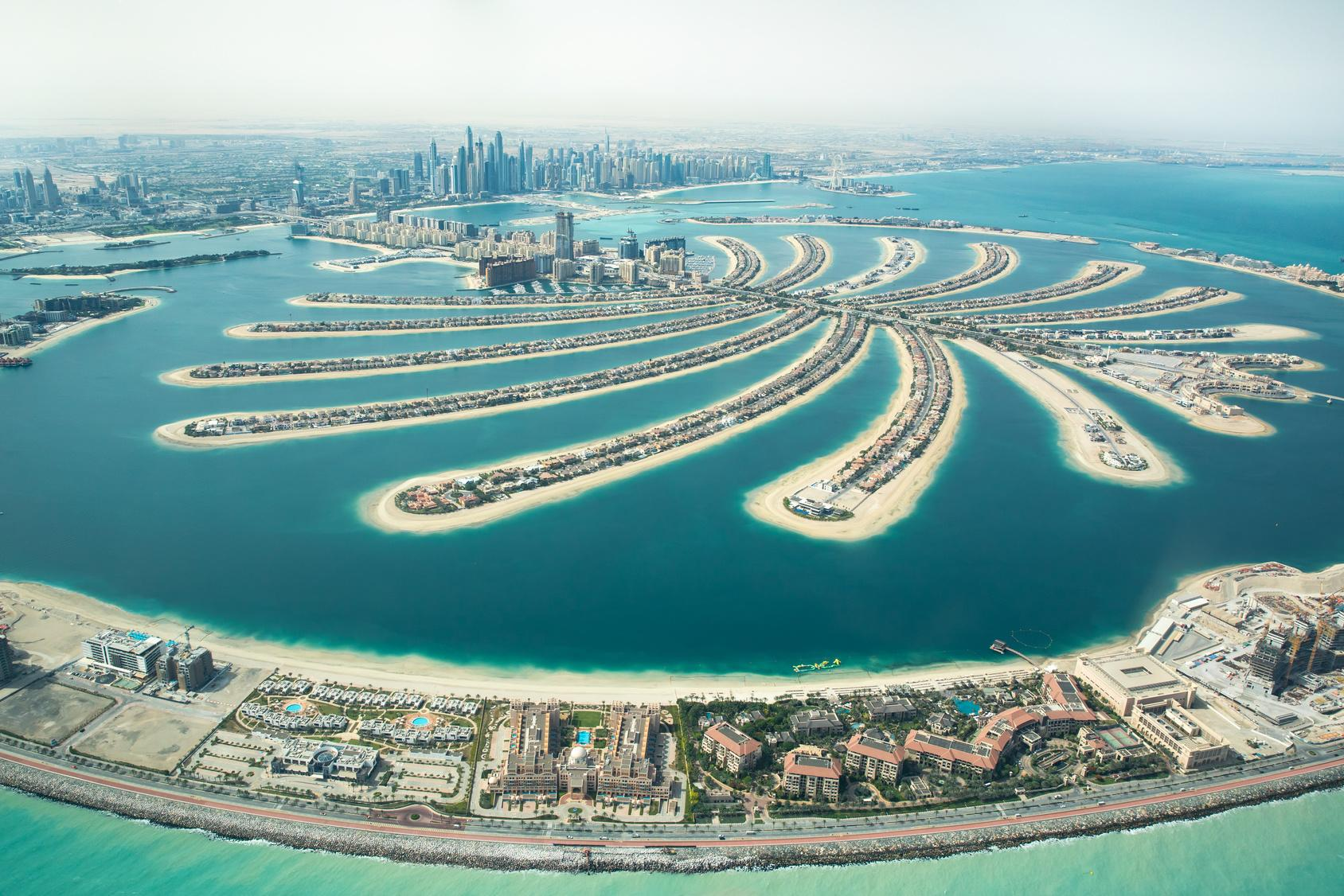 Palm Jumeirah – a wealthy place for the affluent