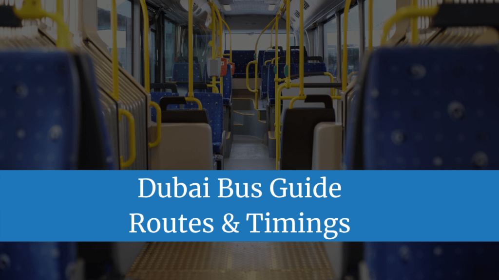 Dubai Bus Guide