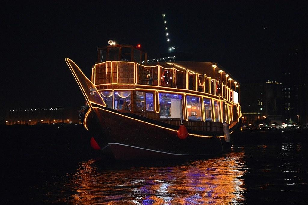 Dubai Marina Cruise and Dinner