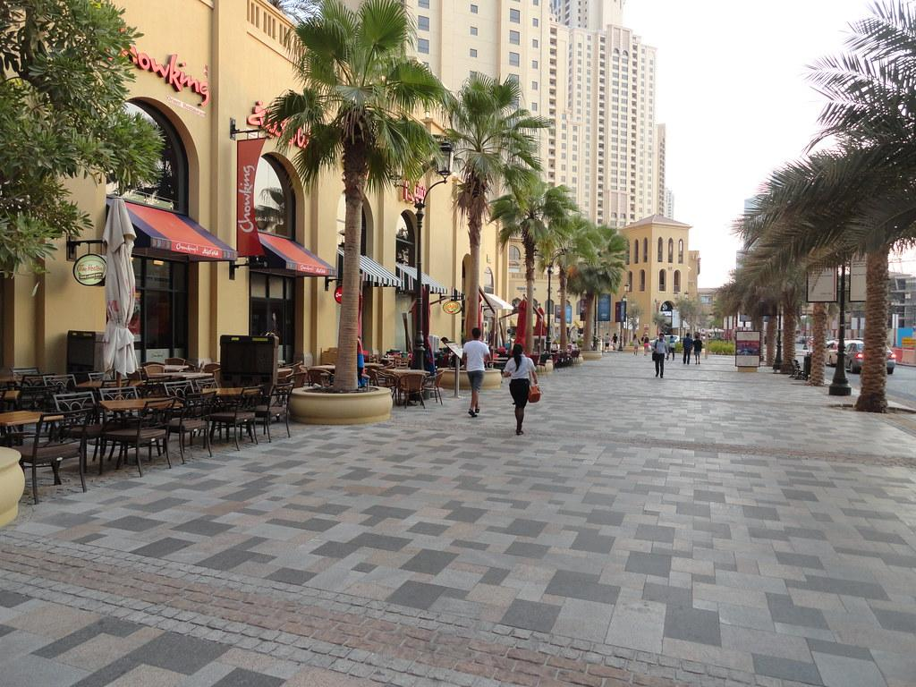 The Walk & The Beach At JBR