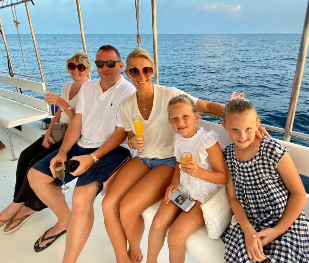 Lucy Gibson With Family